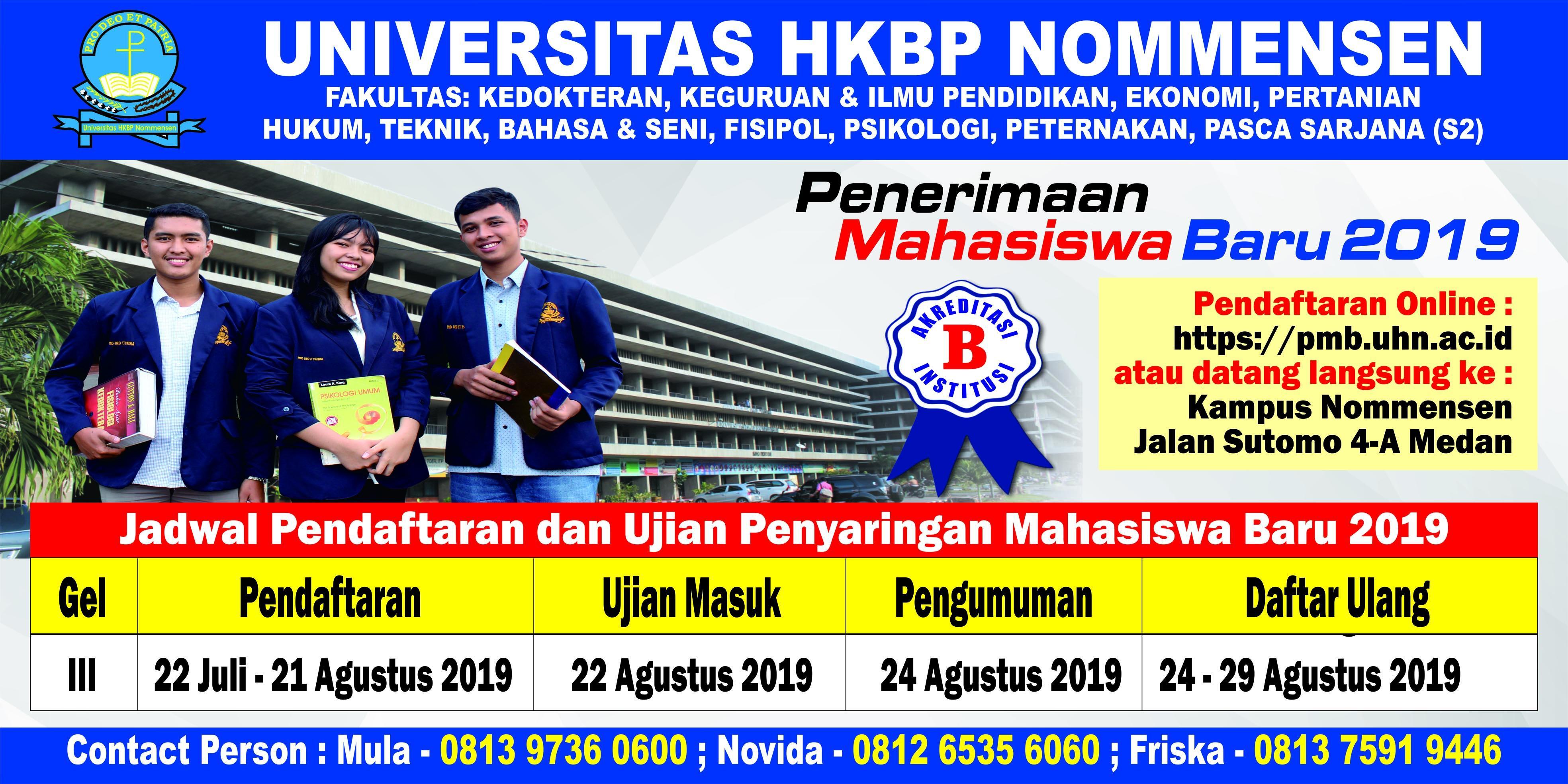 UHN Medan 2019