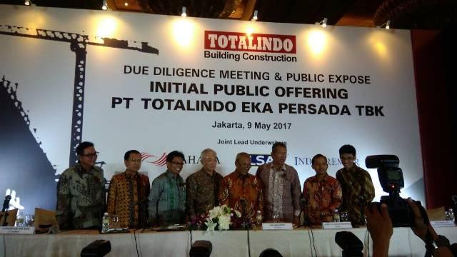 PT. TOTALINDO EKA PERSADA Resmi Masuk Bursa Pelita Batak